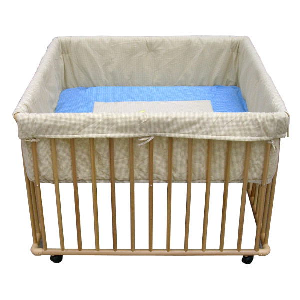 parc b b r glable en bois 100x100 cm teddy mat insert. Black Bedroom Furniture Sets. Home Design Ideas