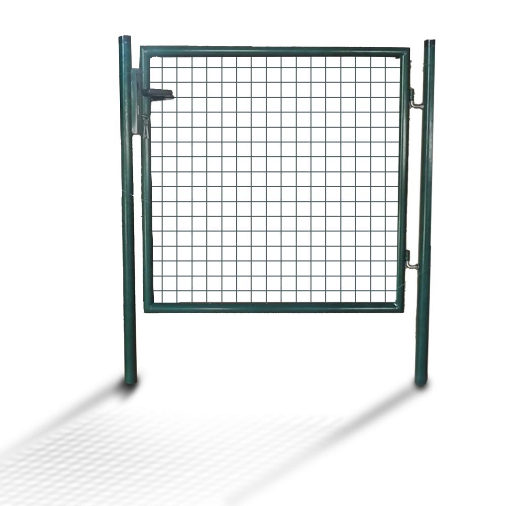 puerta para jardn cerca de granja x cm cierre acero galvanizado durable