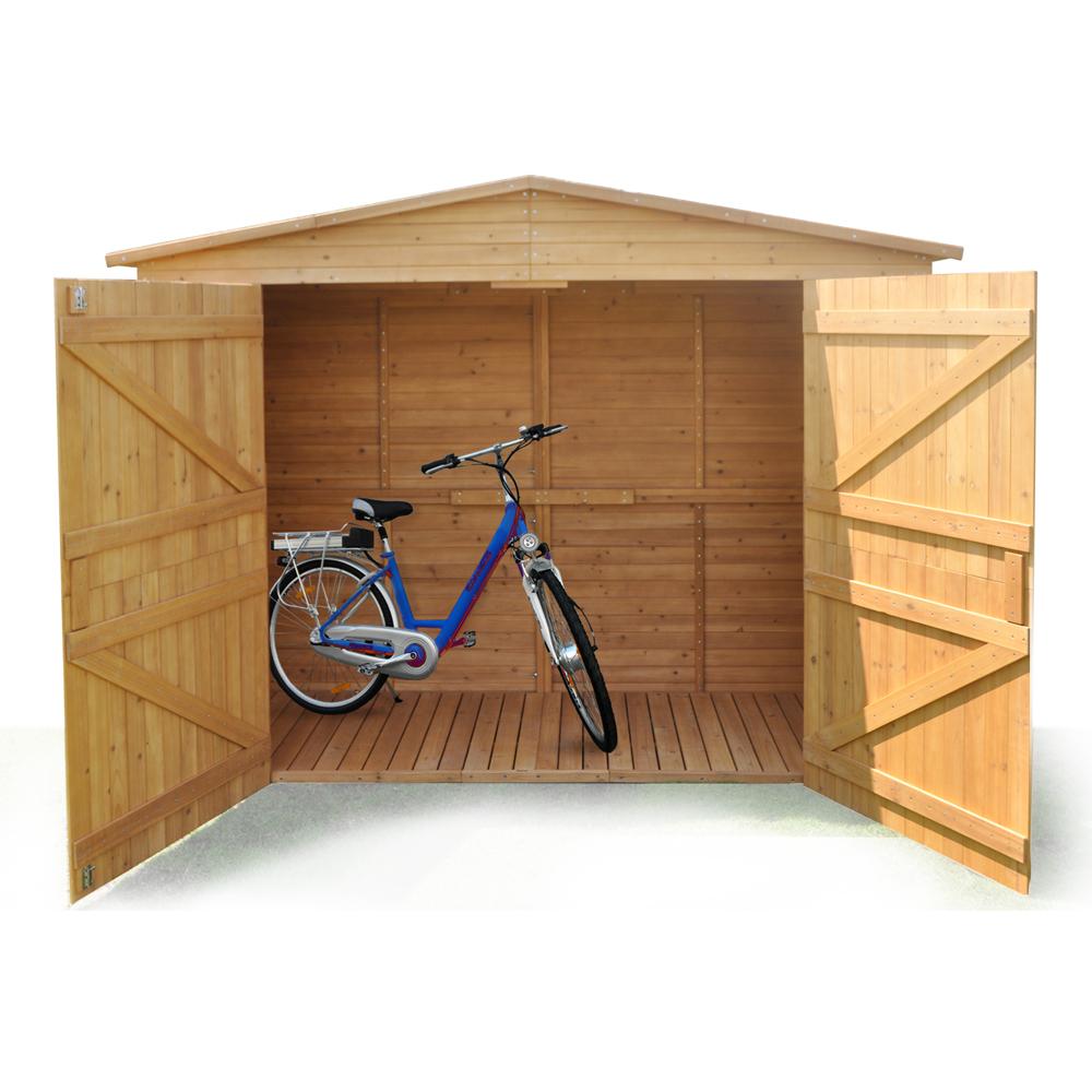 Xxl caseta para herramientas jard n de madera resitente a - Casetas de madera pequenas ...