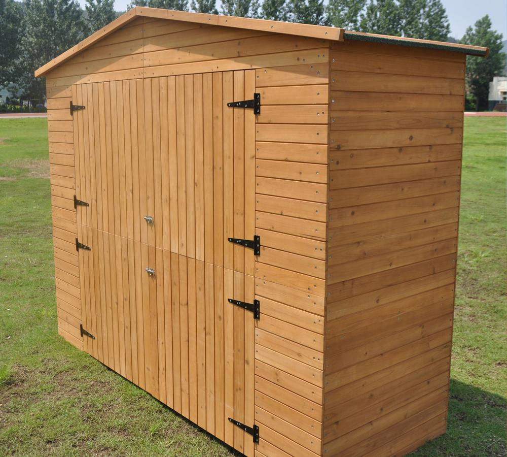 Xxl caseta para herramientas jard n de madera resitente a for Caseta de madera para jardin