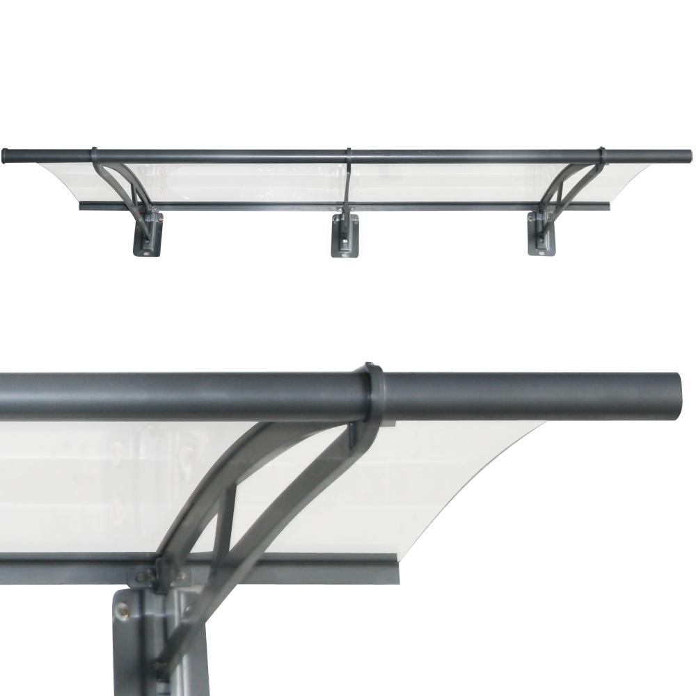 auvent et aluminium xxl durable panneau polycarbonate. Black Bedroom Furniture Sets. Home Design Ideas