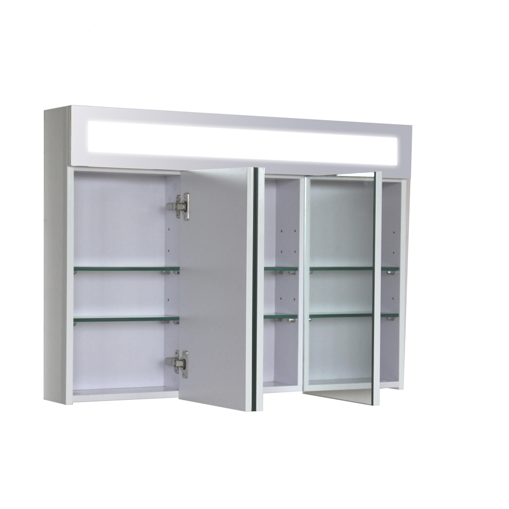3d armoire a glace salle de bain ameublement mirroir illumin 90 ebay. Black Bedroom Furniture Sets. Home Design Ideas