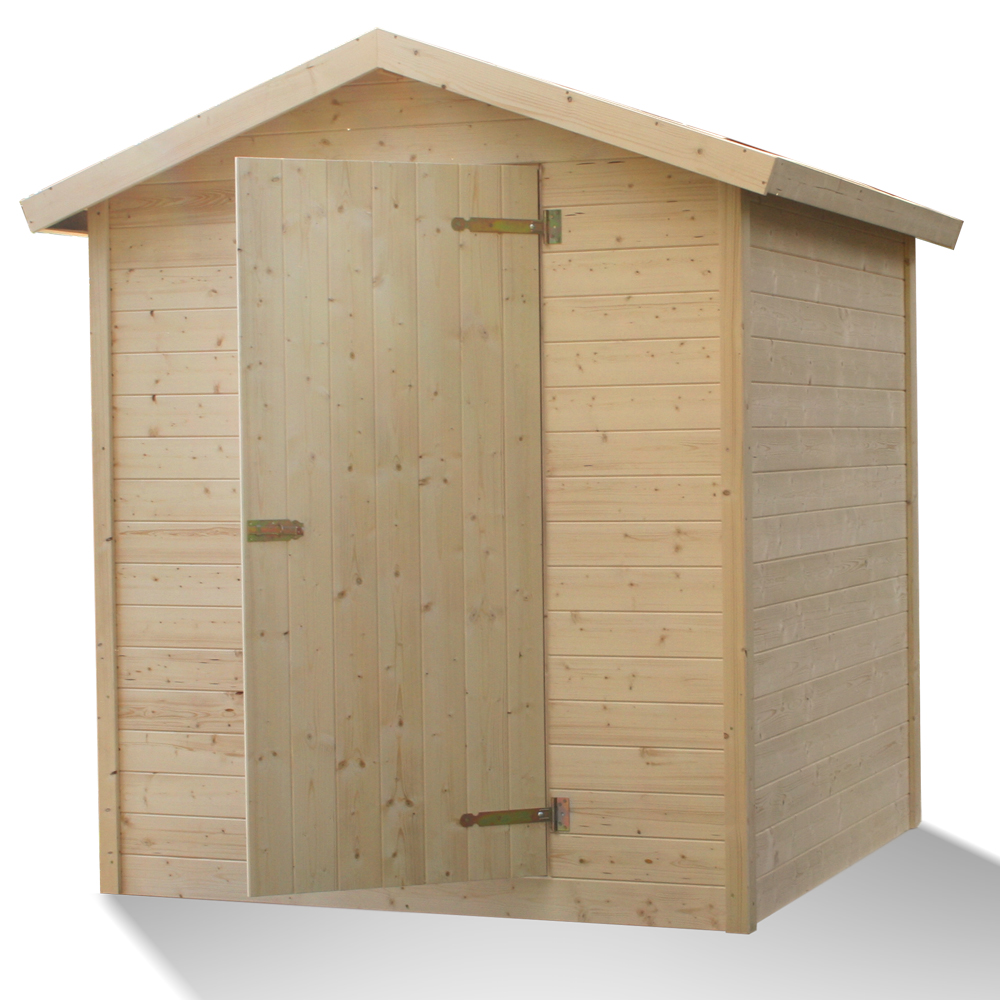 Garden solid wood shed log cabin patio home appliances for Durable sheds