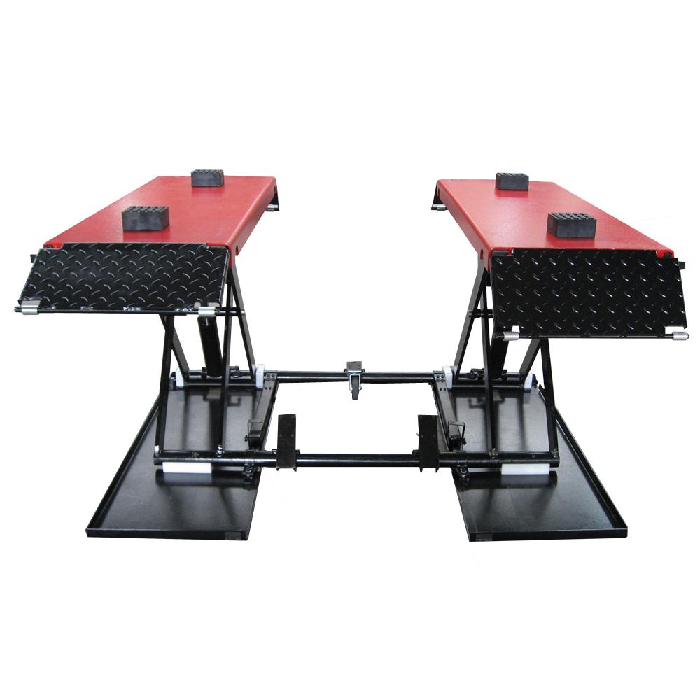 Hydraulic Lift Ramps : Automotive hydraulic scissor lift car platform ramp