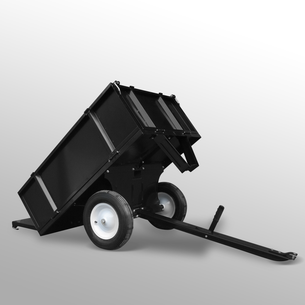 Remorque Tondeuse Tracteur de jardin Poids 300 kg ...