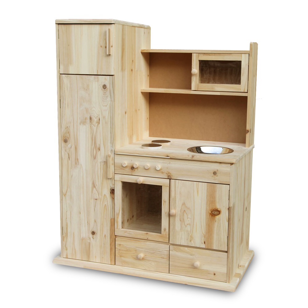 childrens wooden kitchen pretend play toy microwave small shop cooker ebay. Black Bedroom Furniture Sets. Home Design Ideas