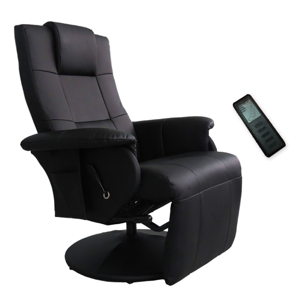 Recliner Massage Chair Shiatsu Stool Cinema Sofa Relax