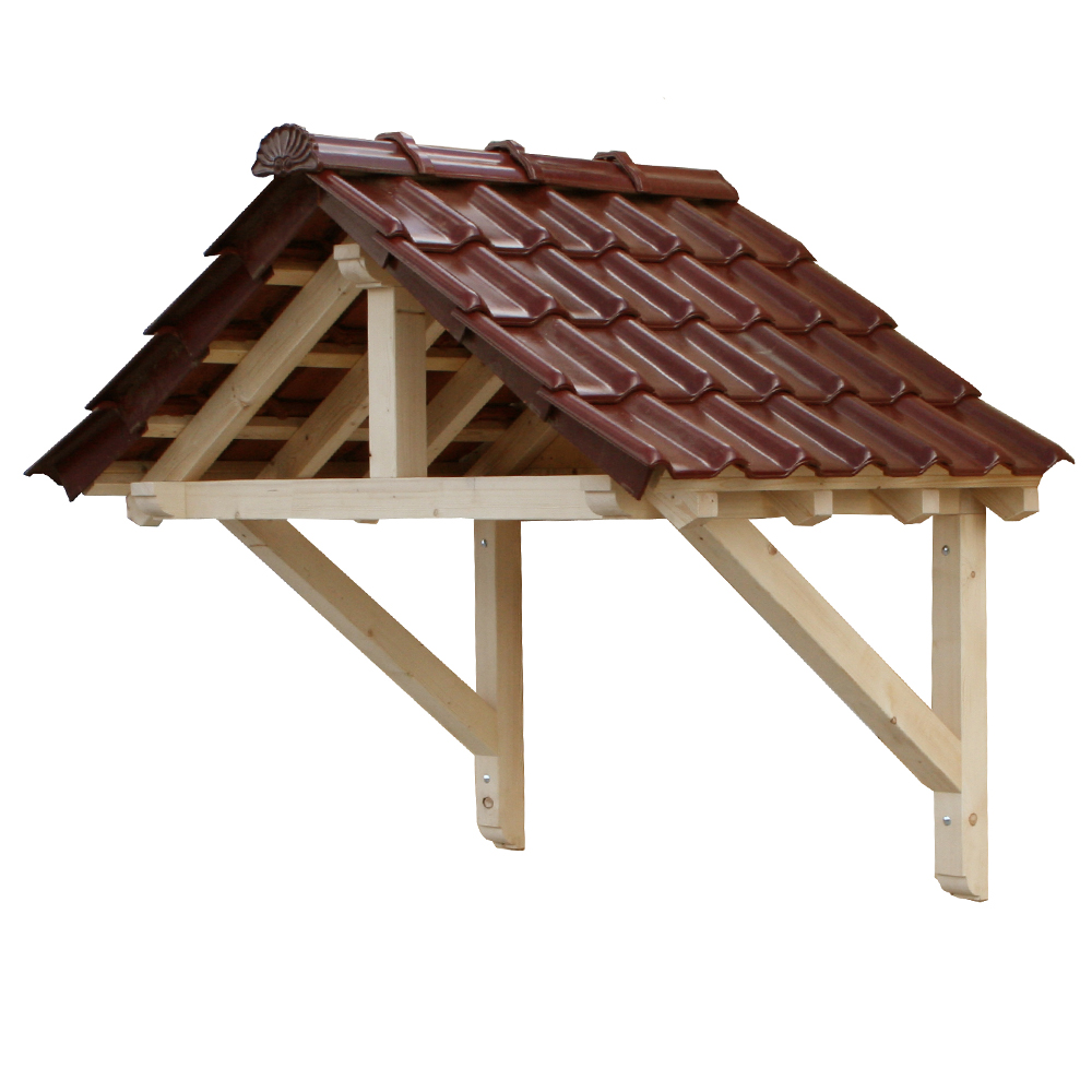 Wood Canopy Porch Door Semi Awning 1800 mm Panel Solid Timber Brand ...