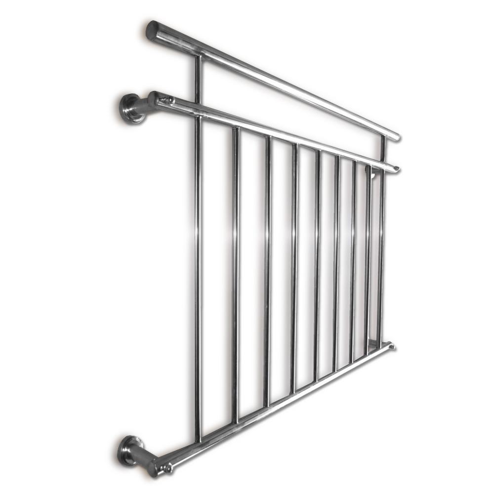 Balustrade De Balcon Gril Fen Tre Style Fran Ais En Acier Inoxydable Tige 156x90 Ebay