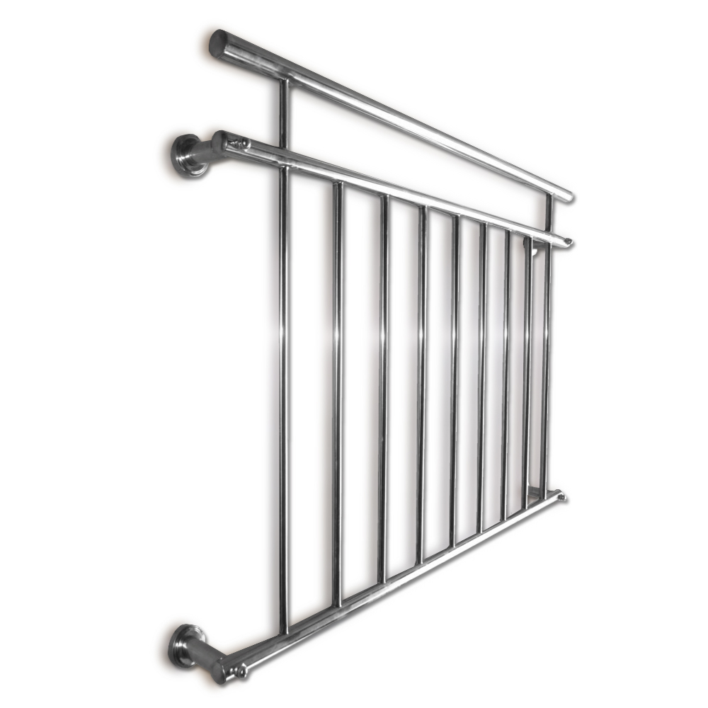 Juliet balcony railing balustrade french rod stainless