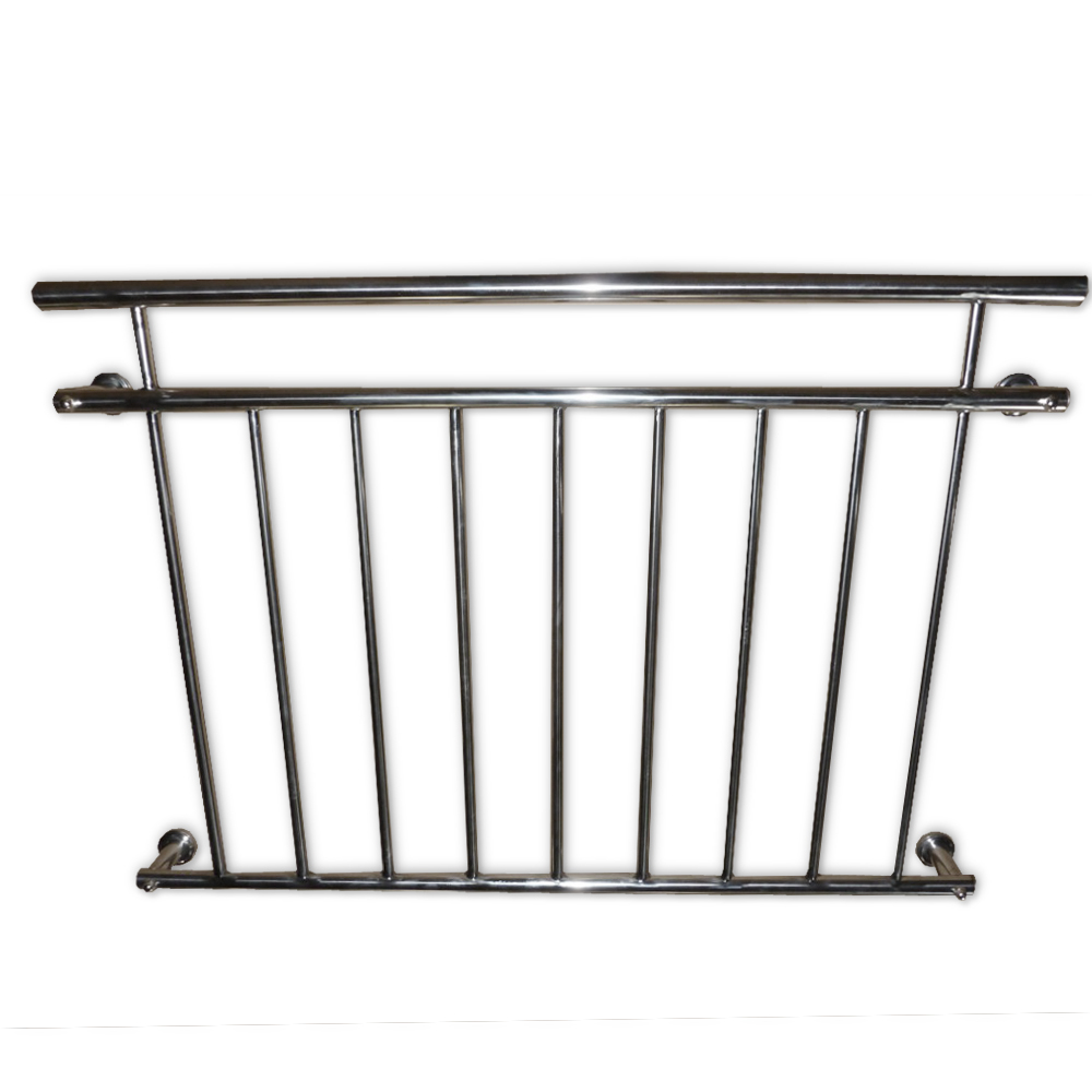 Juliet balcony railing balustrade french rod stainless for Balcony handrail