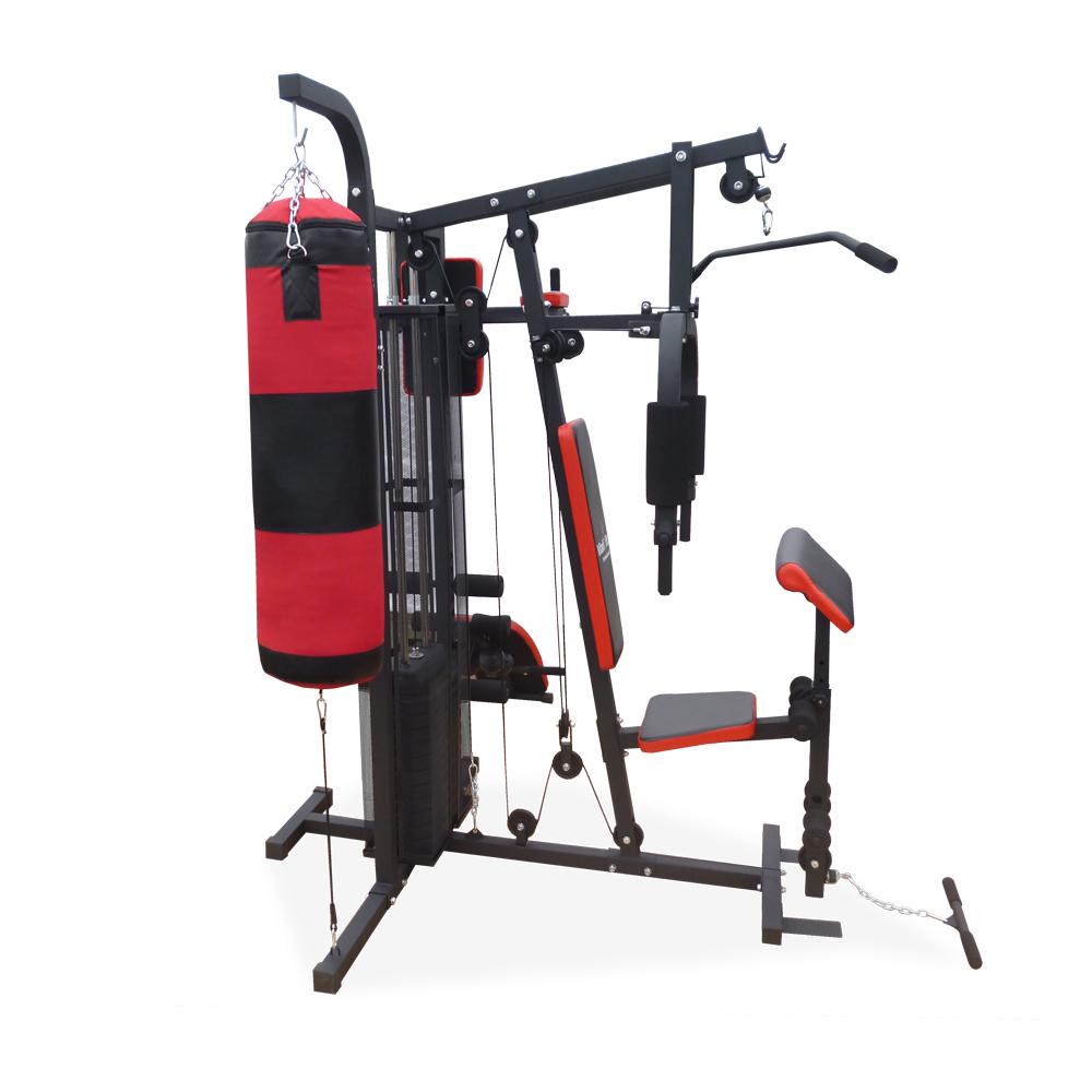 banc de musculation d 039 entra nement station poids sac de boxe halt res fitness ebay. Black Bedroom Furniture Sets. Home Design Ideas
