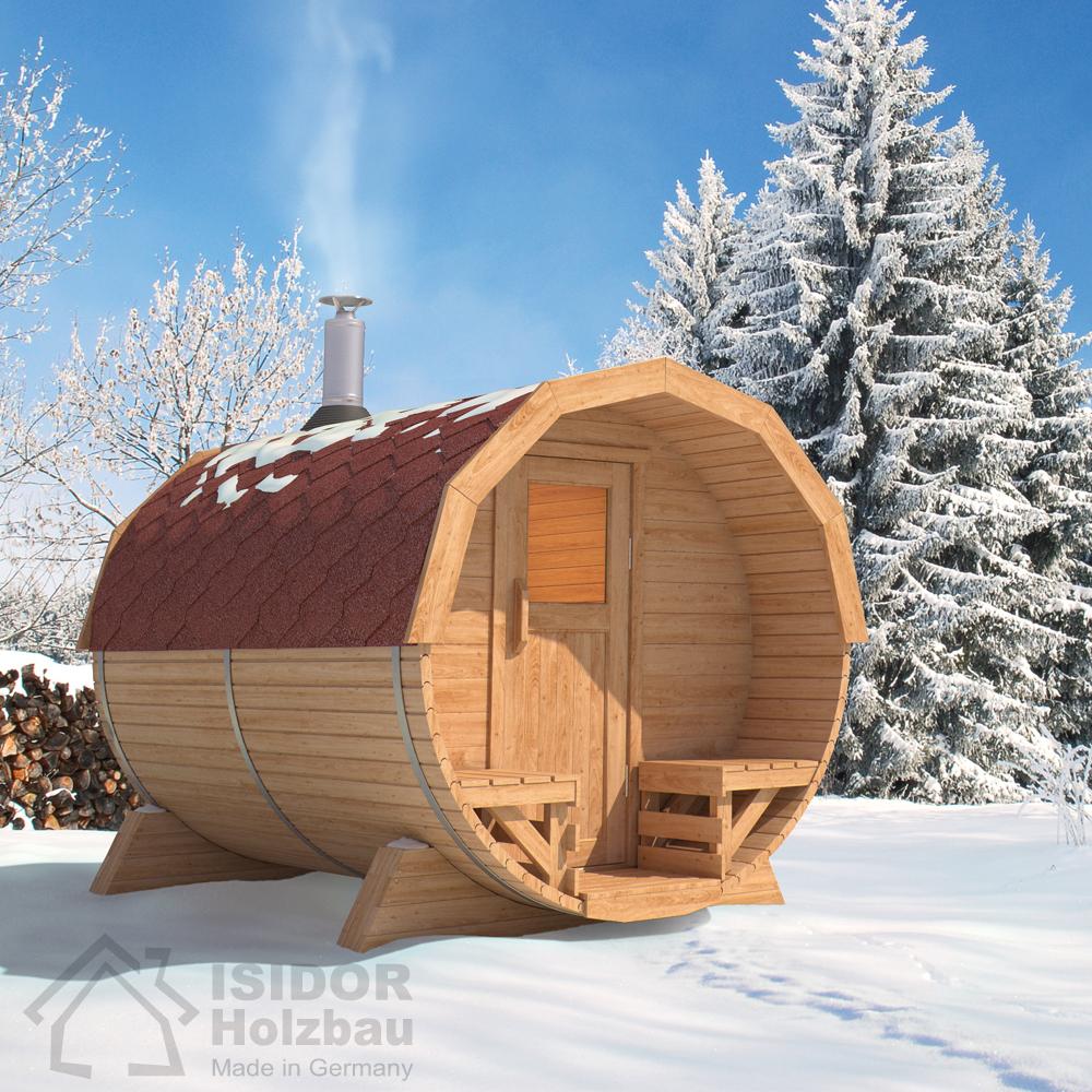 Isidor premium cabine sauna sauna ext rieur sauna de - Cabine sauna exterieur ...