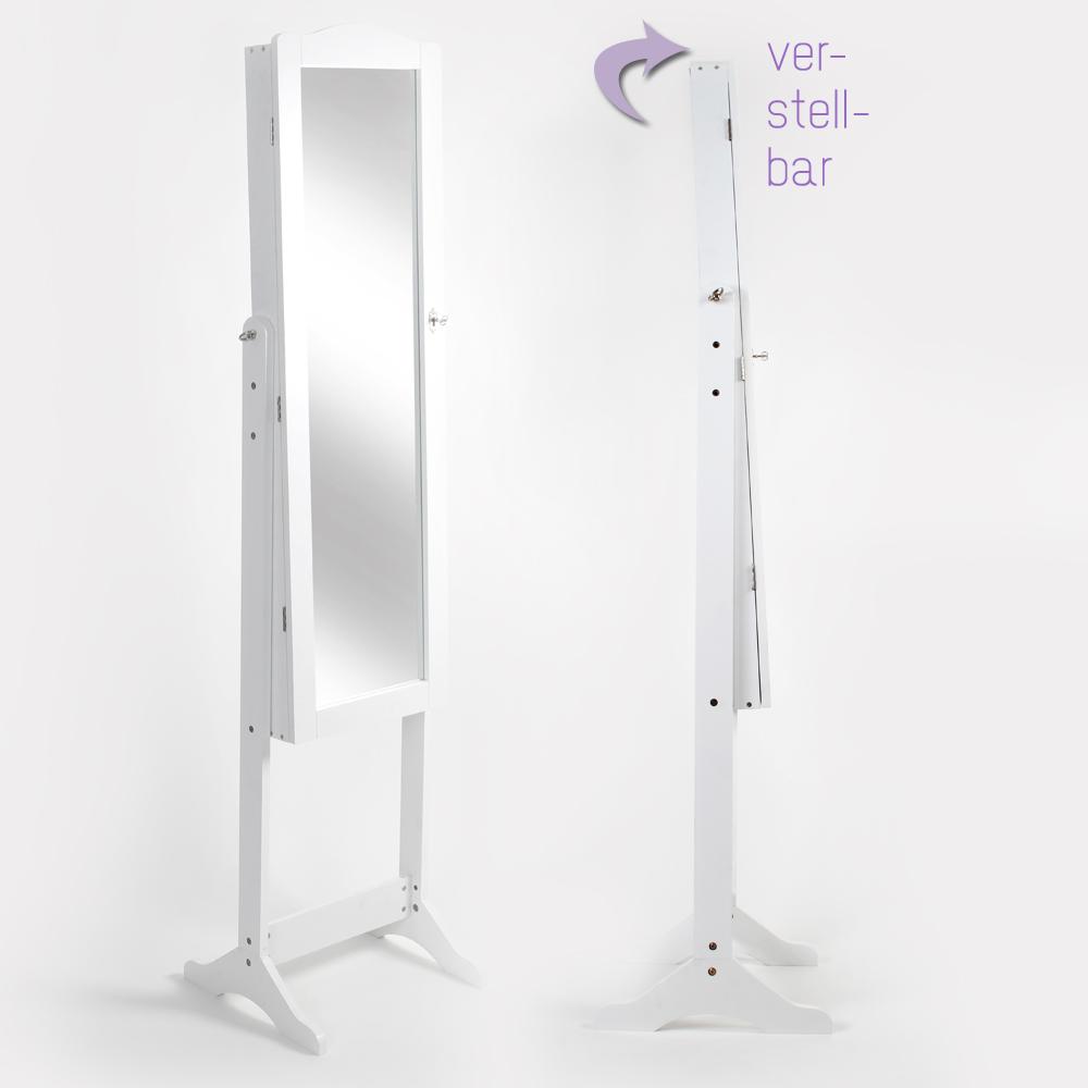 Armoire bijoux miroir armoire miroir sur pied coffre for Coffre a bijou miroir