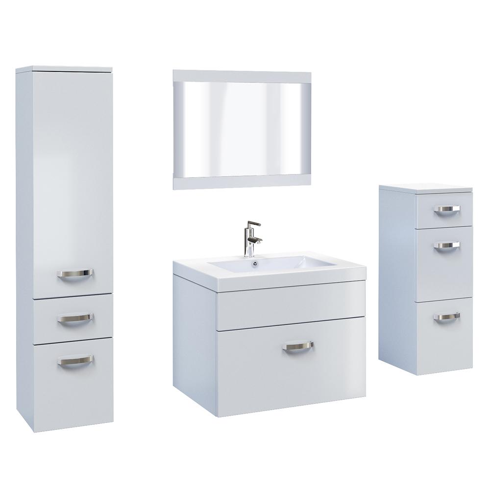 Brilliant  Couk  VidaXL Eight Piece Bathroom Furniture And Basin Set Black