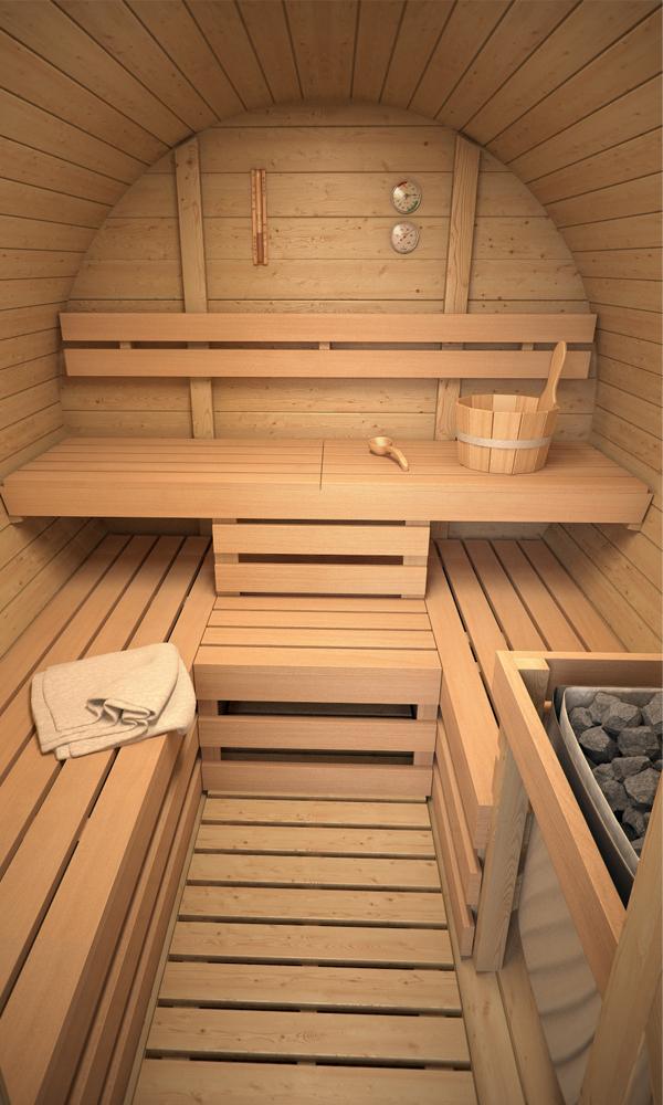 isidor sauna baril de luxe sauna baril sauna ext rieur sauna de jardin ebay. Black Bedroom Furniture Sets. Home Design Ideas