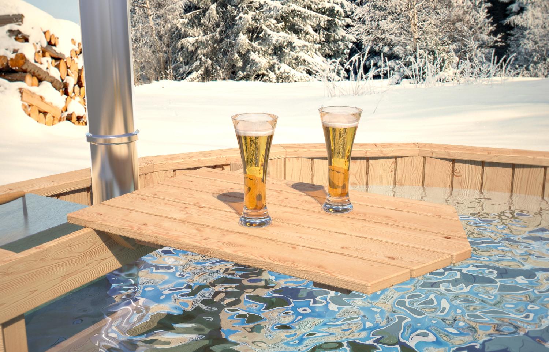 Isidor ba era de madera barril ba o piscina al aire libre - Jacuzzi aire libre ...