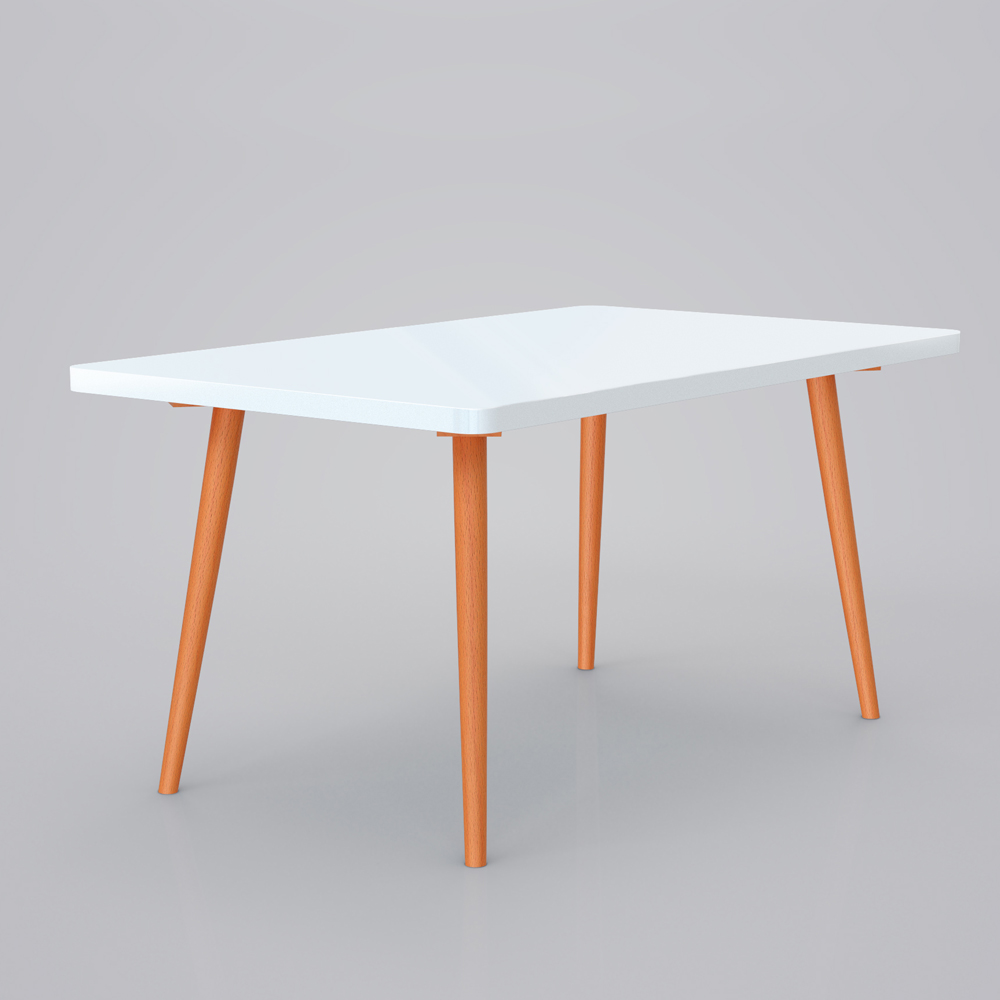 Vimes Design Table Dining Table Coffee Table Retro Furniture White Ebay