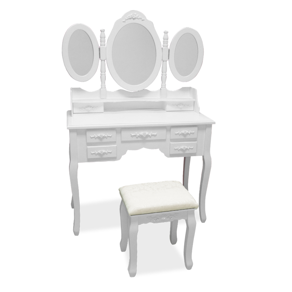 Dressing Table Vanity Table Dresser Vintage Cosmetics With