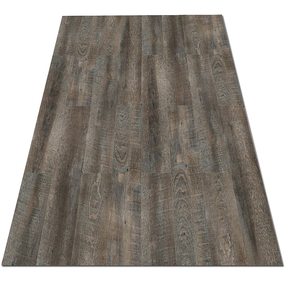Dalles en vinyle laminées apparence parquet plancher vieux bois