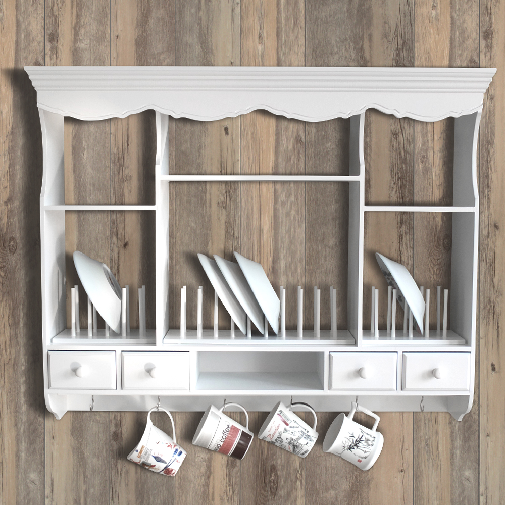 wall mounted plate rack ebay