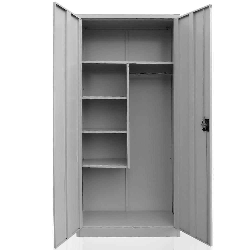 placard pour produits de nettoyage acier balai armoire casier linge m tal ebay. Black Bedroom Furniture Sets. Home Design Ideas