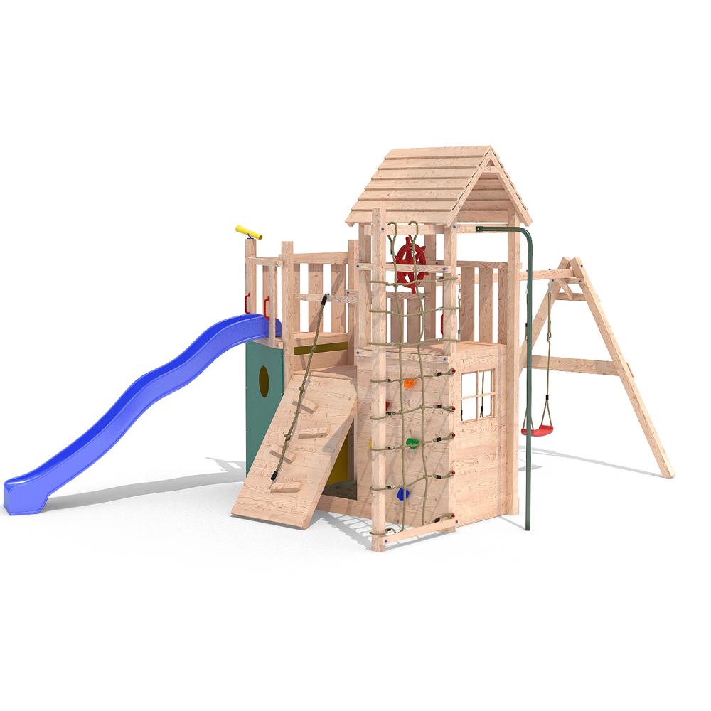 kon tiki neo 2 aire de jeux cabane de jeu tour d 39 escalade. Black Bedroom Furniture Sets. Home Design Ideas
