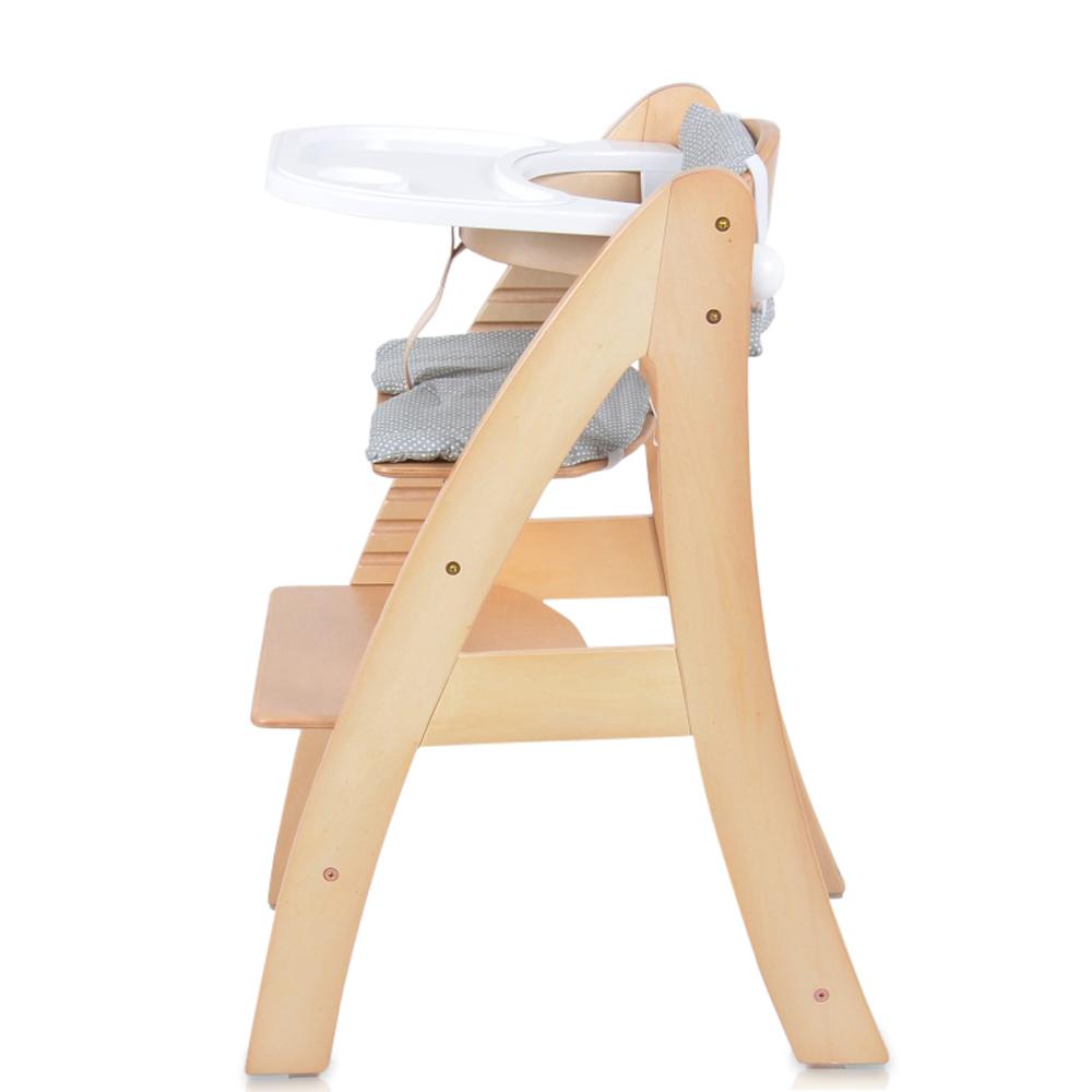 B b enfant chaise haute en bois avec escaliers et for Chaise haute en bois bebe