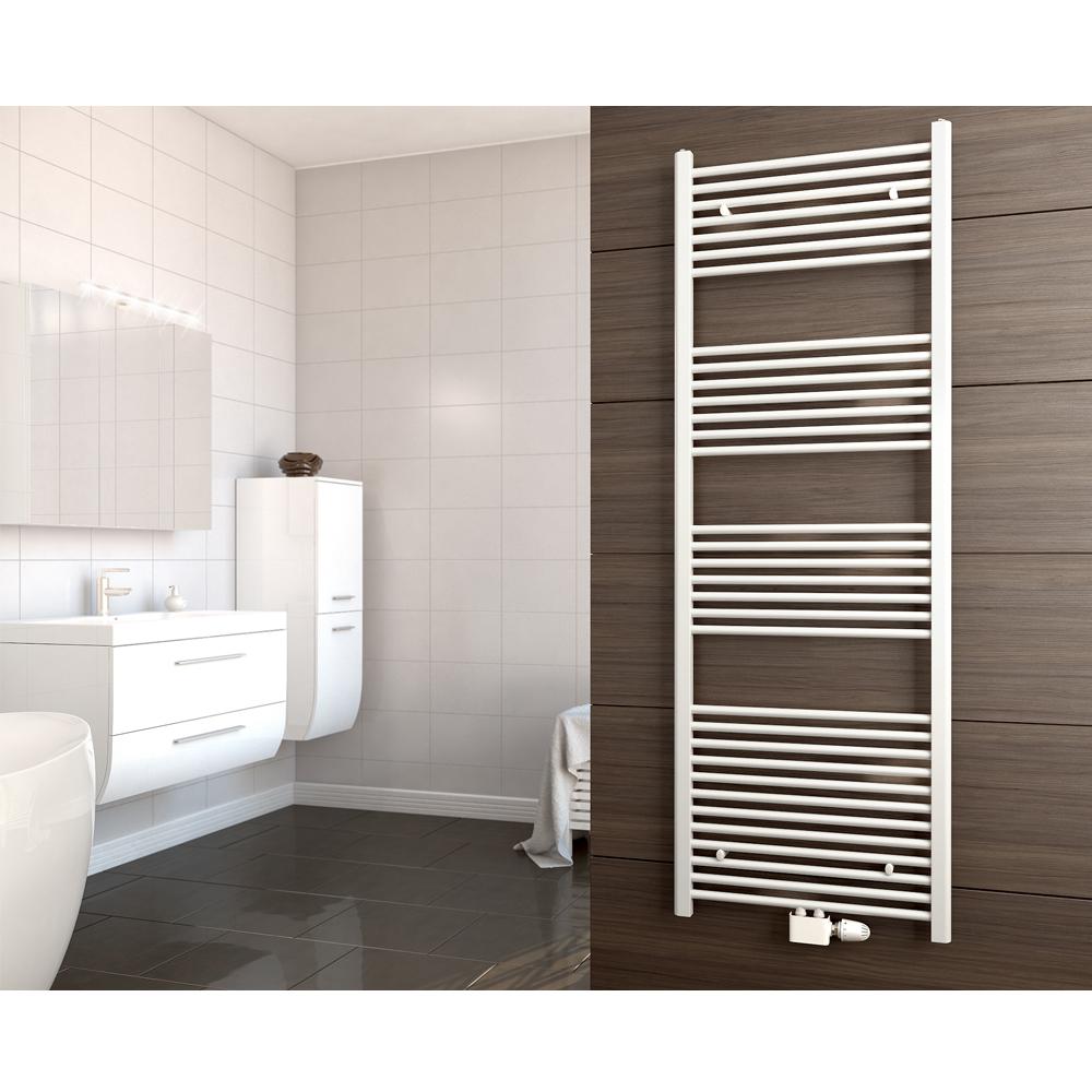 Radiatore termosifone asciugamano decorazione bagno casa bianco 175 x 4 x 52 cm ebay - Decorazione bagno ...