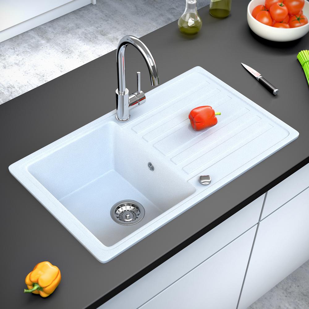 Bergstroem lavello della cucina in granito lavello della - Lavello cucina fragranite ...