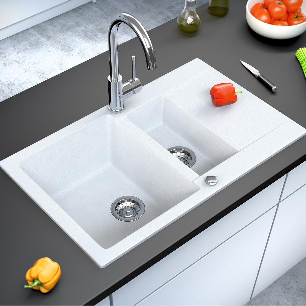 Bergstroem granito fregadero cocina desag e lavadero for Fregadero lavadero