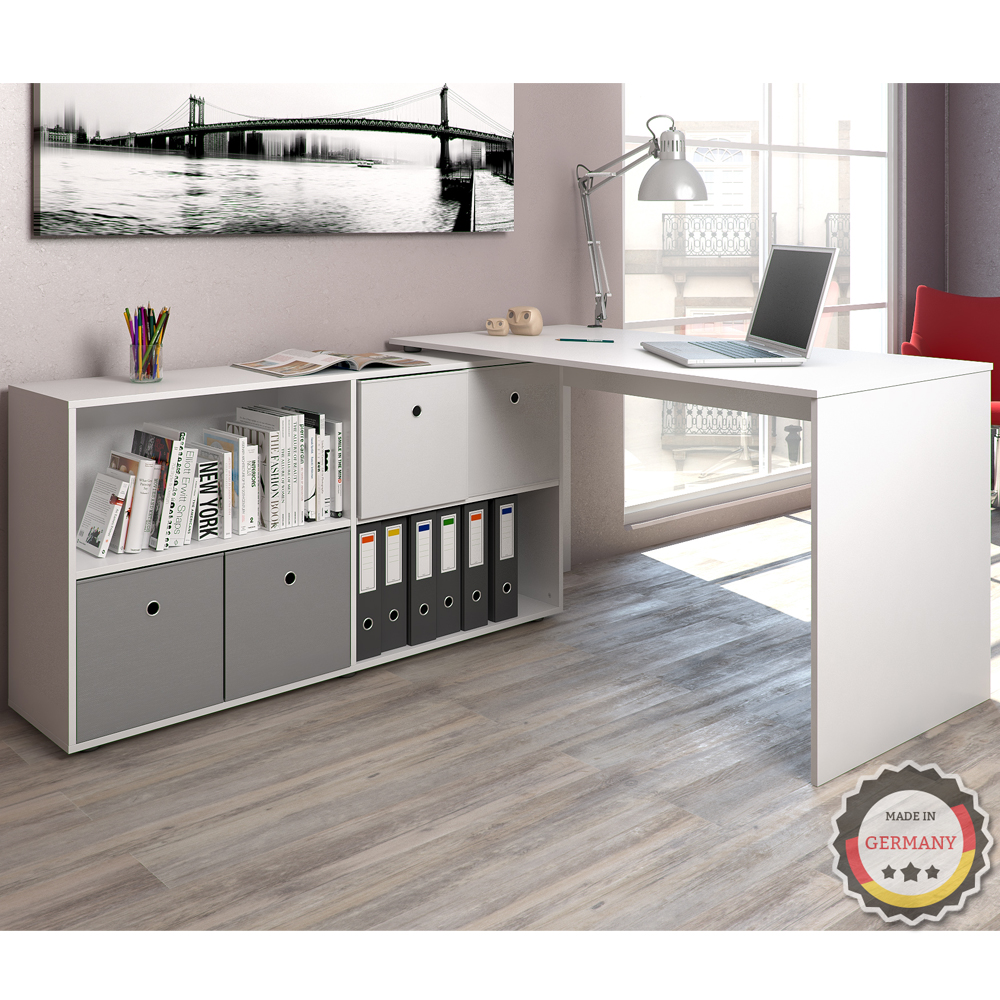 Table ordinateur bureau bureau en coin bureau d 39 angle for Bureau en coin