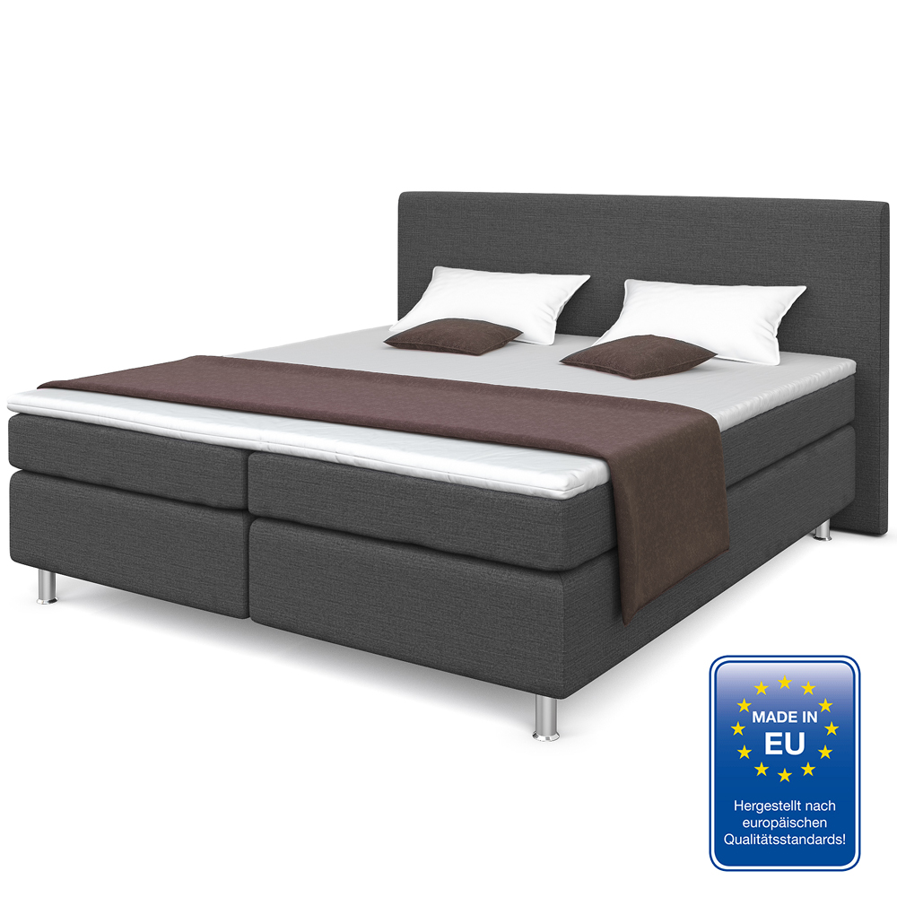 Canap cama doble cama de hotel cama acolchada 180x200 for Canape para cama