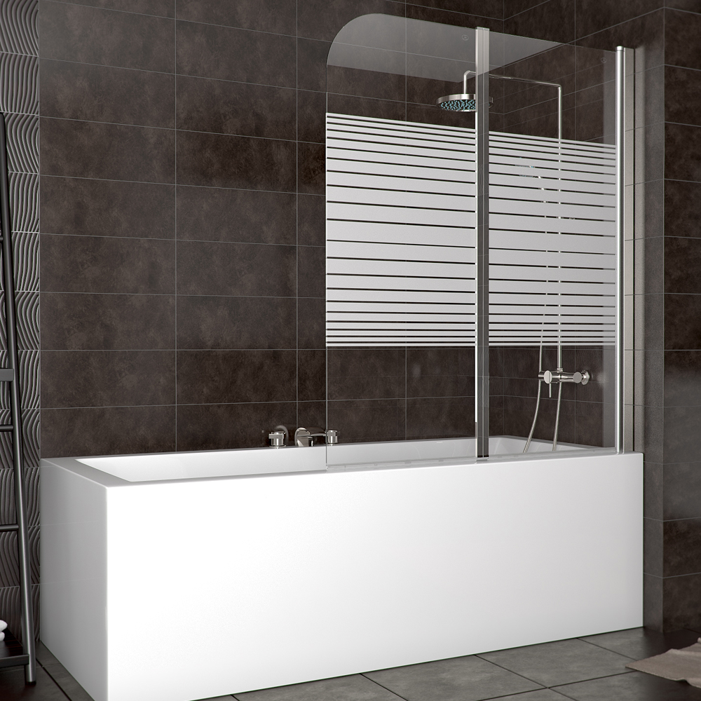 Cran de douche cloison douche baignoire cloison pliante verre ray droite for Cloison baignoire