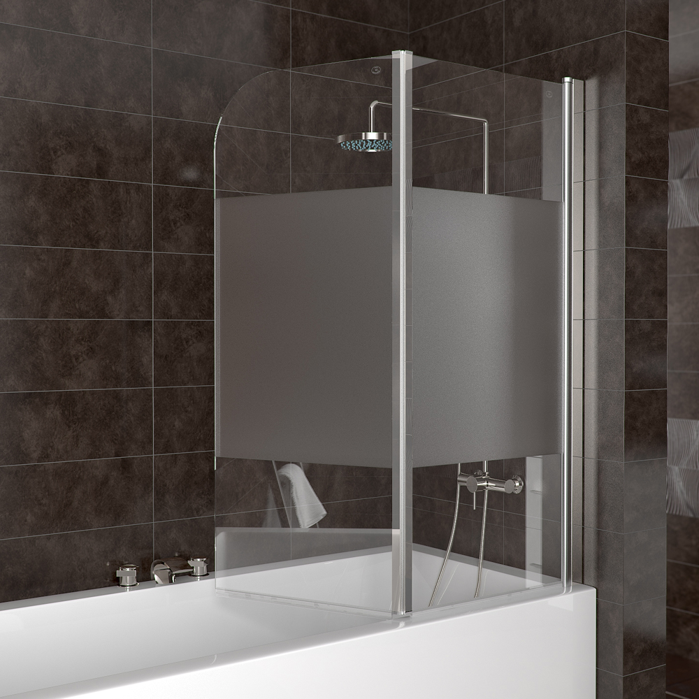Shower Enclosure Bathtub Shower Screen Folding Glass