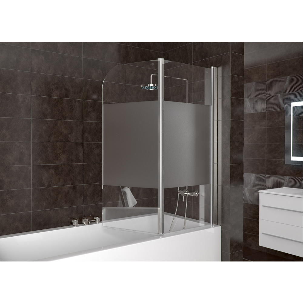 shower enclosure bathtub shower screen folding glass volente 8mm frosted hinge bath shower screen easy clean