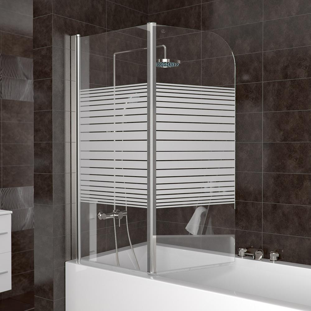 Box doccia vasca parete doccia in vetro tende pieghevoli - Tende per doccia in lino ...