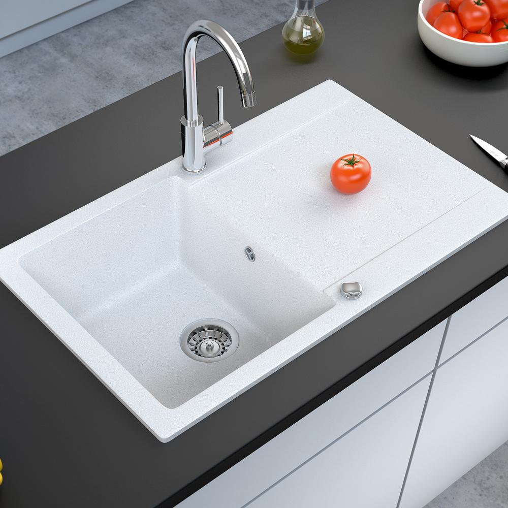 bergstroem vier de cuisine en granit encastr r versible 780x495 blanc. Black Bedroom Furniture Sets. Home Design Ideas
