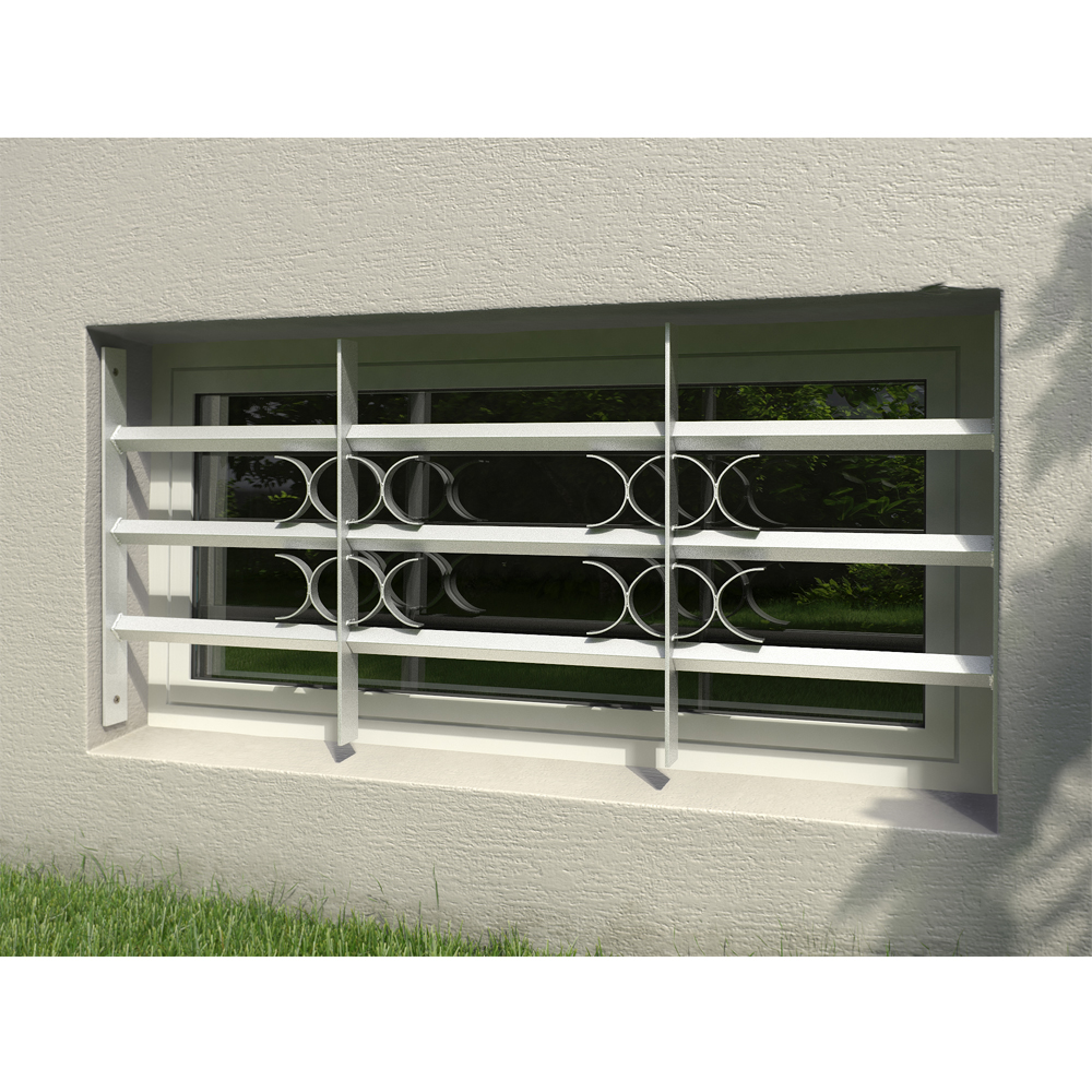 Grille de fen tre de s curit pr fen tre protection for Protection fenetre