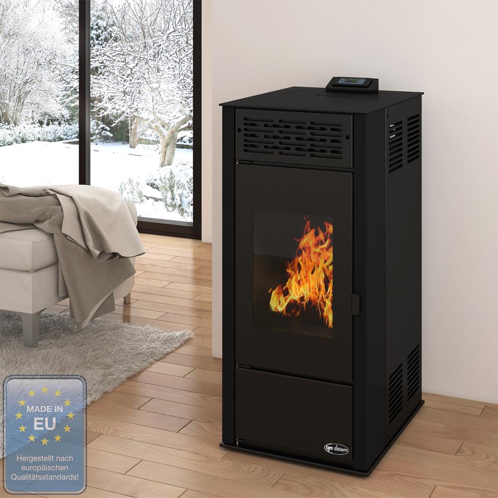 Pellet stove kw heater heating furnace