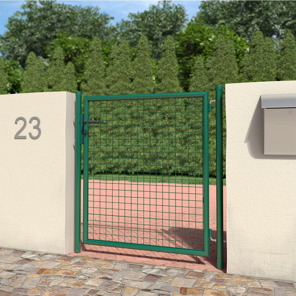 Portail d 39 entr e cour jardin 100x120 cm ebay for Portail entree jardin