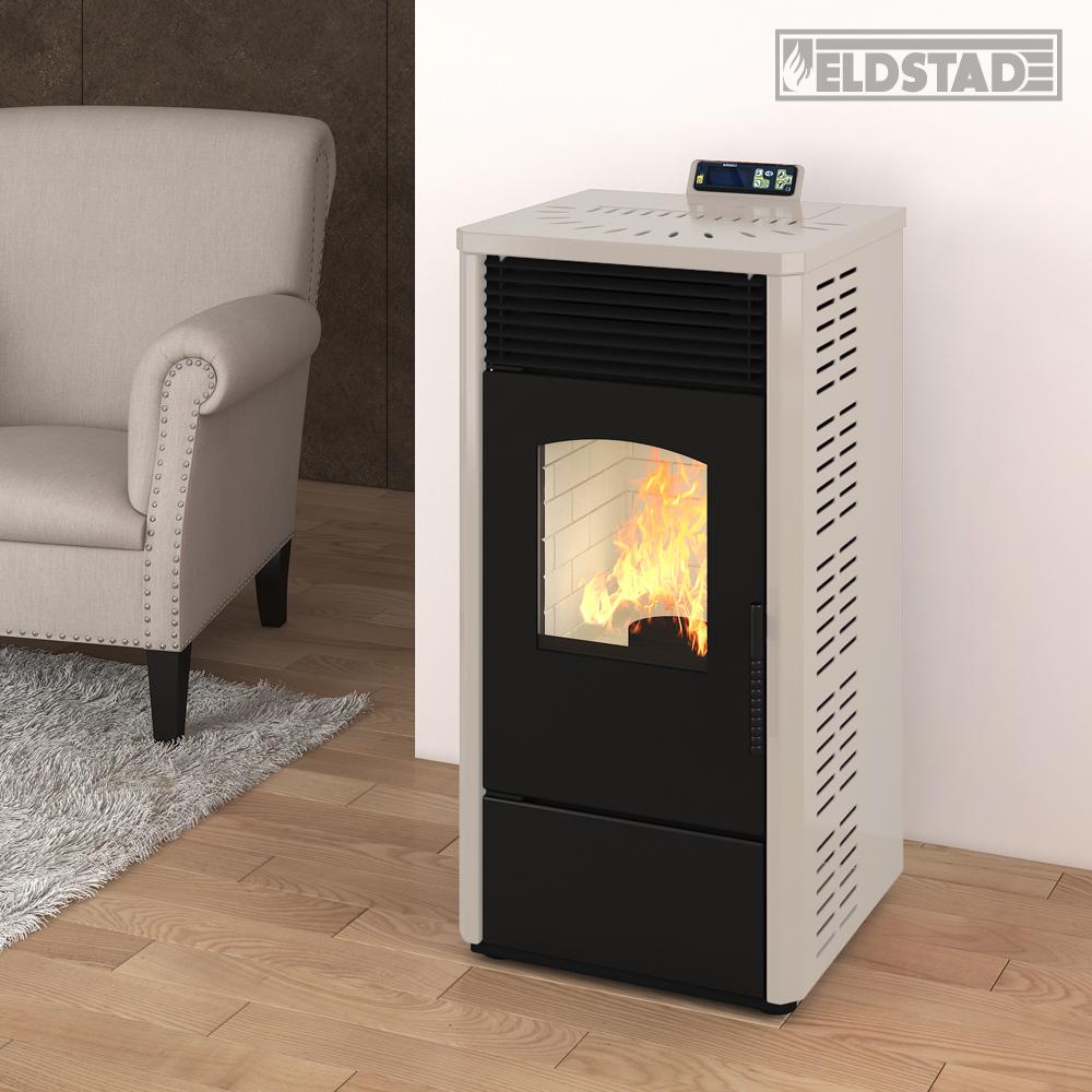 Eldstad estufa pellets estufa calentador horno de for Estufa pellets con horno
