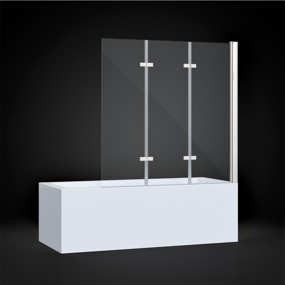 cabine de douche baignoire paroi verre douche 3 aile nano droite ebay. Black Bedroom Furniture Sets. Home Design Ideas