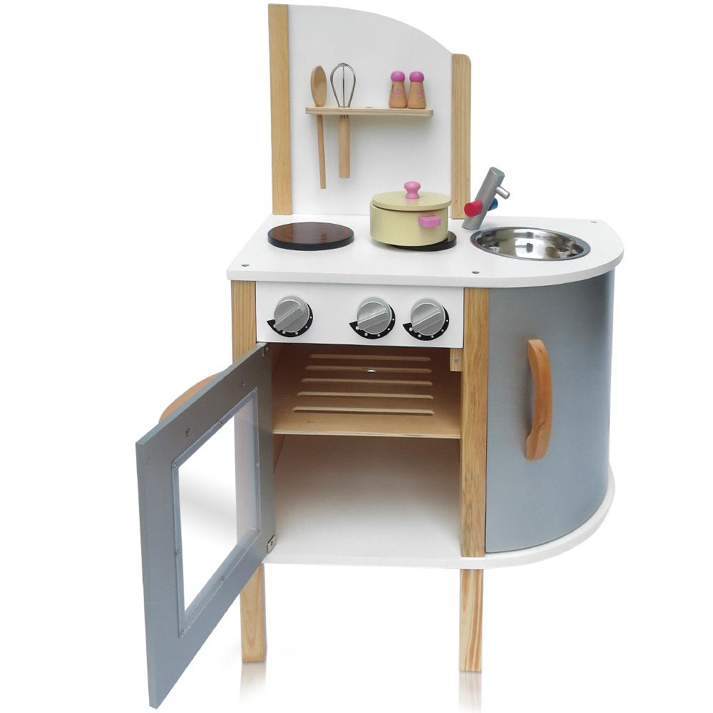 Cucina giocattolo Cucina giocattolo in legno Forno per bambini lavandino cucina  eBay