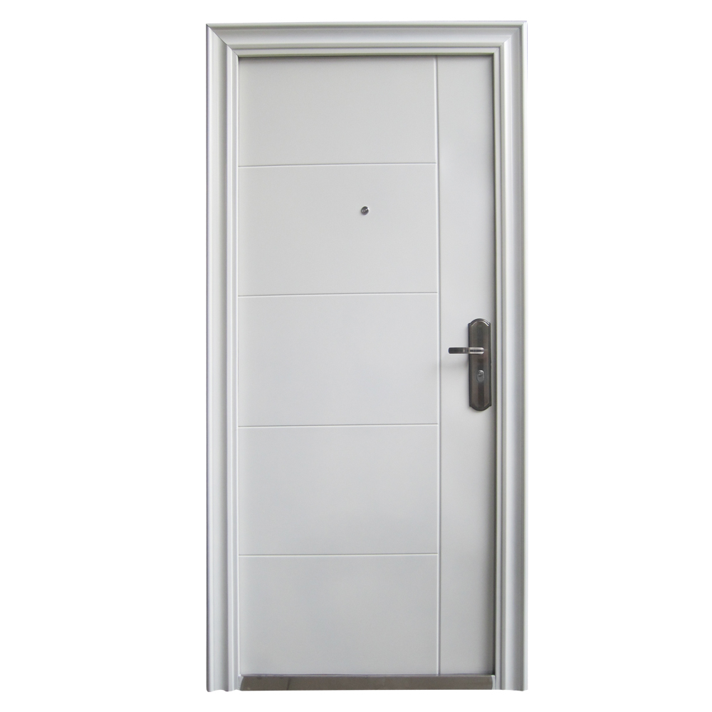 front door door apartment door security door 96x205 white DIN right ...