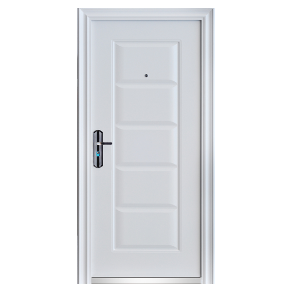 front door door apartment door security door 96x205 white din left