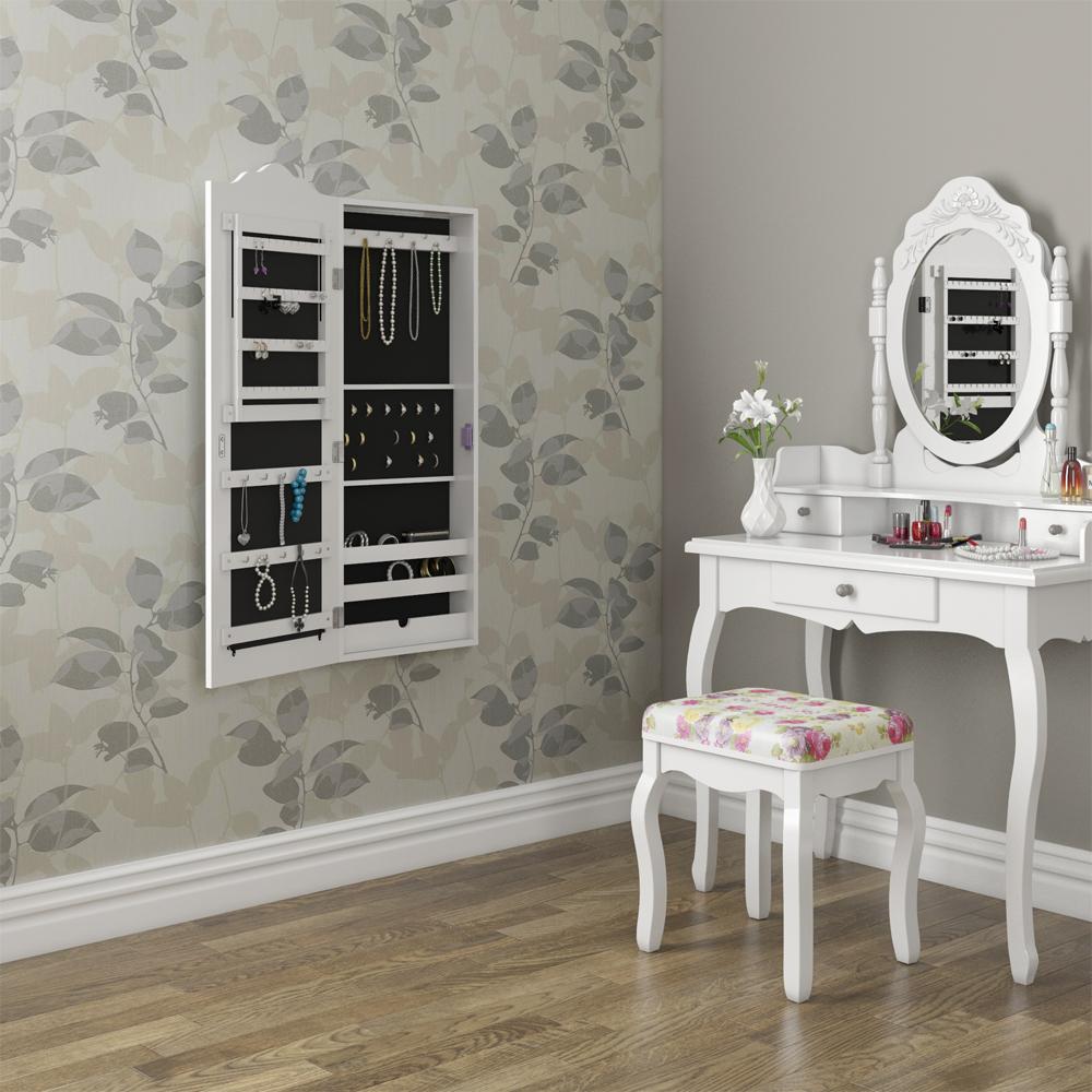 Armadio specchio a muro armadio per gioielli armadio a - Specchio per armadio ...