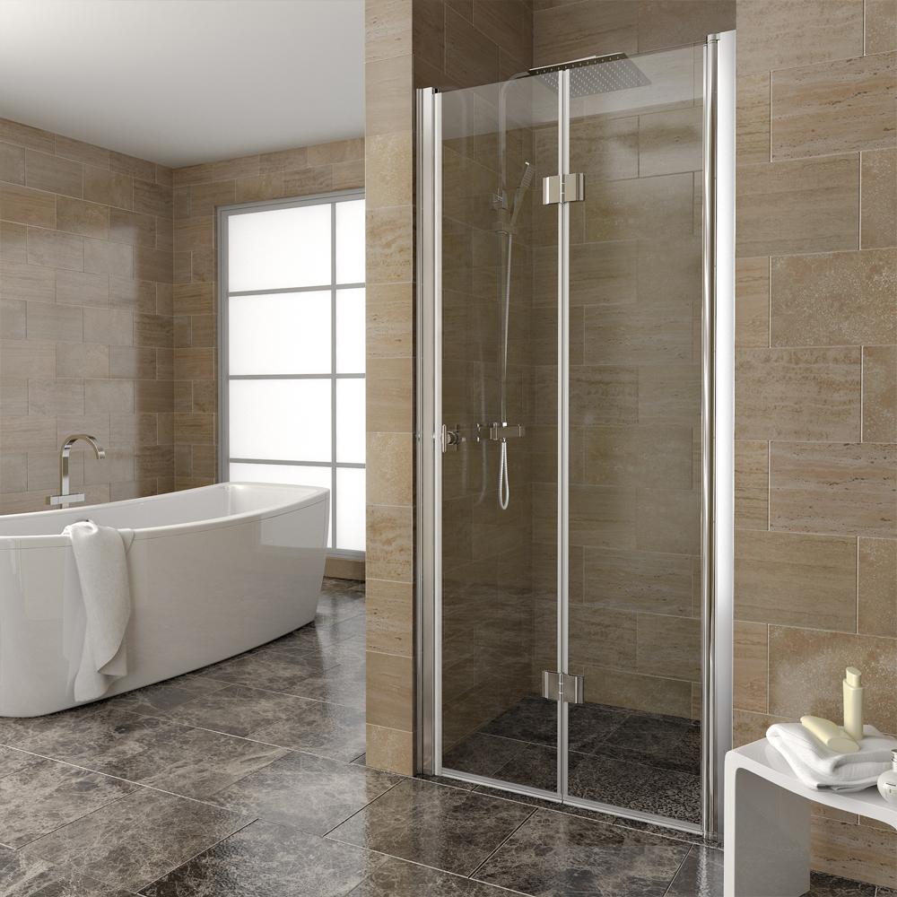 Cabina doccia nicchia doccia porta a soffietto porta per - Porta cabina doccia ...