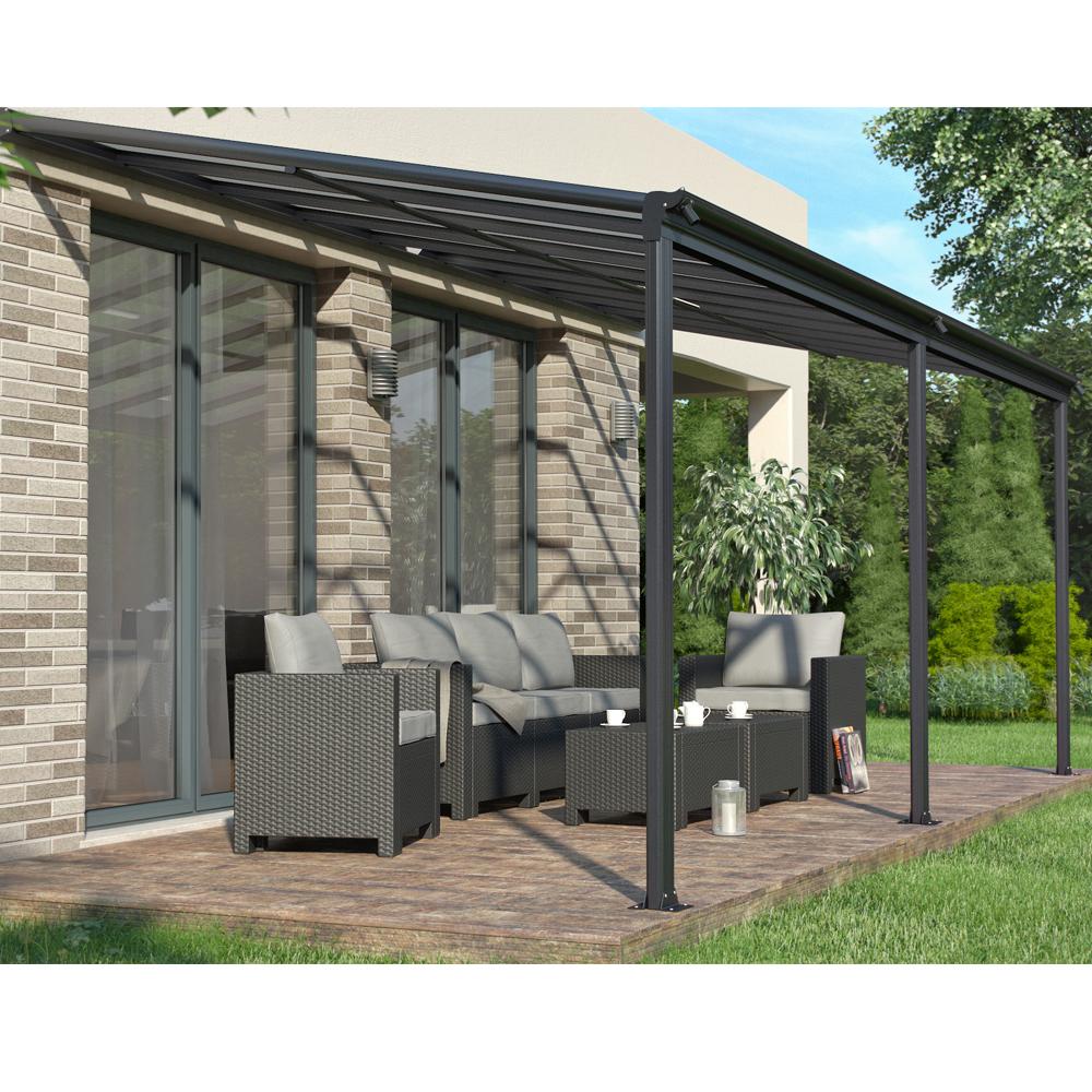 toit terrasse pergola aluminium auvent de terrasse toiture toit v randa 557x303 ebay. Black Bedroom Furniture Sets. Home Design Ideas