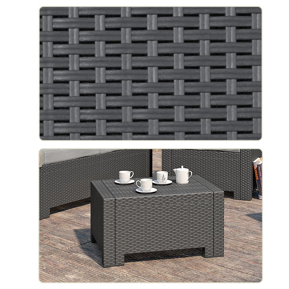 Tavolo da giardino mobili sgabello lounge tavolo sgabello for Tavolo giardino colorato